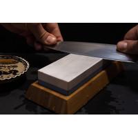Как правильно точить японский нож на водном камне
