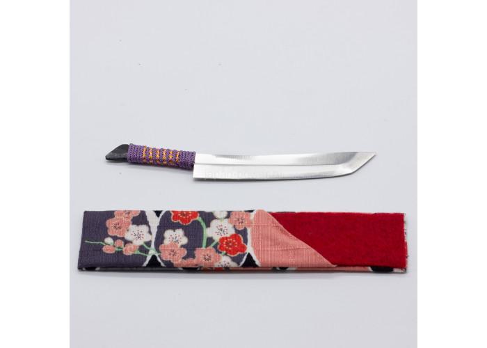 Нож Nagao Higonokami, Omamori Kogatana, Aogami (Blue Sleel), 70mm