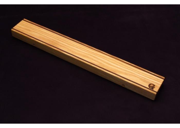 Магнитный держатель для ножей MDG (ясень и орех) 700г.