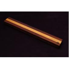 Магнитный держатель для ножей MDG (орех и ясень) 400г.
