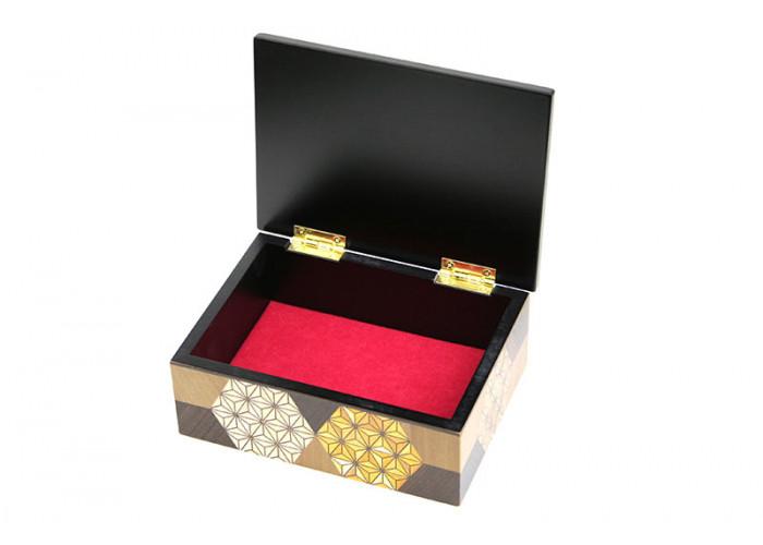 Японская шкатулка Yosegi 180x120X60мм