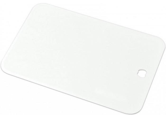 Пластиковая разделочная доска, Shimomura, 220х153х2мм (белая, малая)