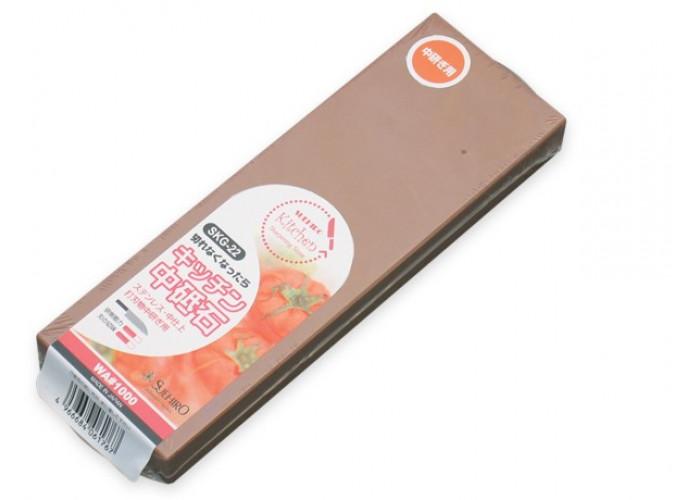 Водный камень Suehiro, серии Whetstones for Kitchen Knives, 1000 грит, SKG-22, 183 x 63 x 20мм