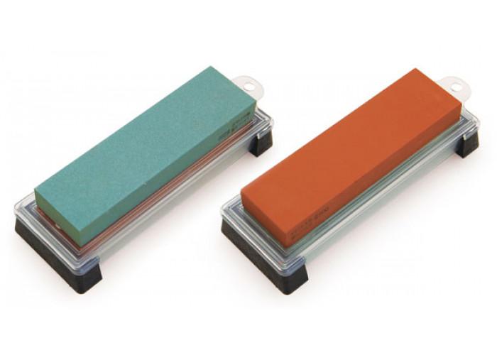 Водный камень Suehiro, серии Whetstones for Kitchen Knives, 220/800 грит, W-41, 180 x 50 x 18мм / 180 x 50 x 18мм
