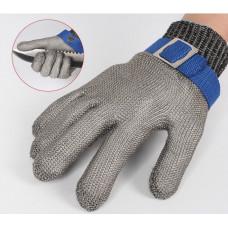 Перчатка Batex, защитная от порезов, металлическая NR.650.24 L