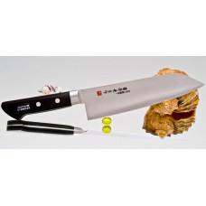Кухонный нож Fujiwara Kanefusa FKM Santoku 180mm