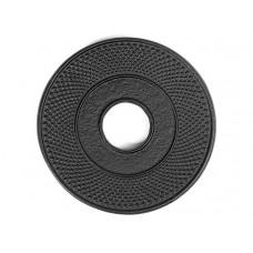 Чугунная подставка IWACHU под чайник 13,5см. (круг, черный)