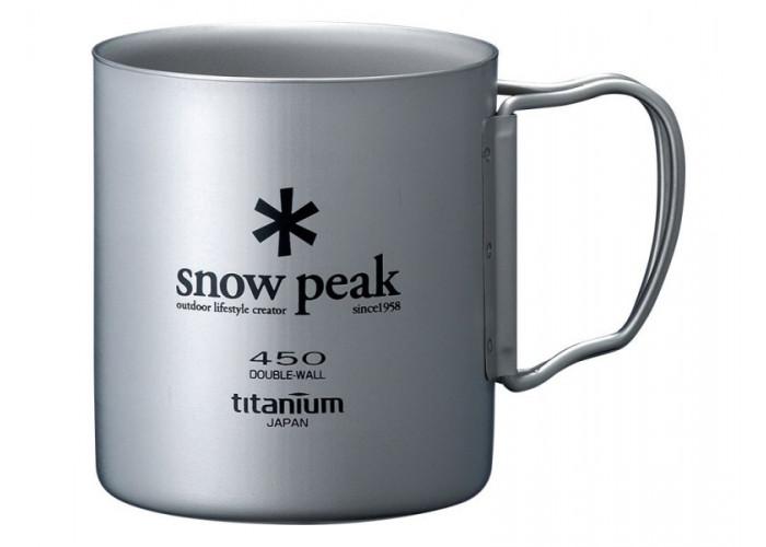 Кружка Snow Peak 450ml (двойная стенка)