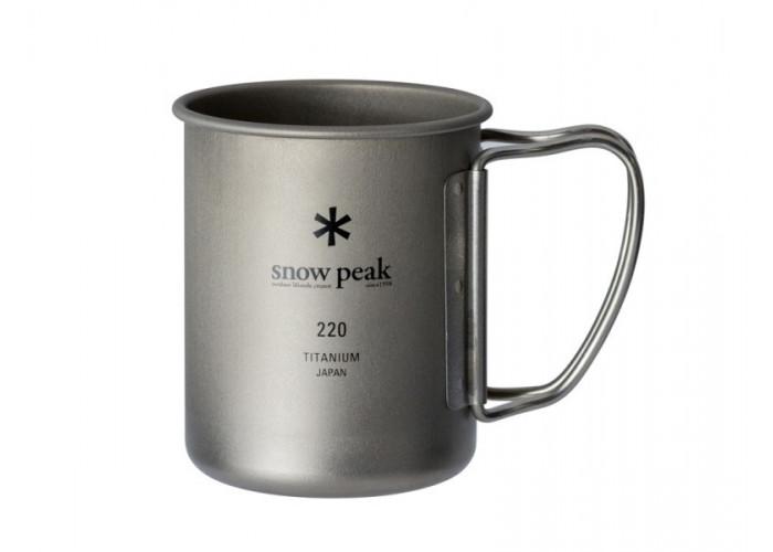 Кружка Snow Peak 220ml (одностенная)
