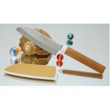 Кухонный нож Suncraft Santoku 105mm