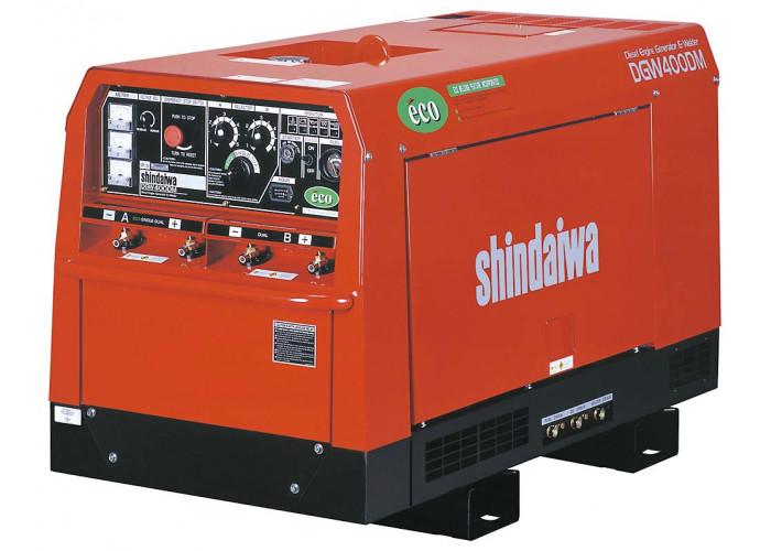 Двухпостовой сварочный генератор Shindaiwa DGW 400 DMK