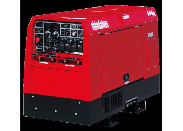 Двухпостовой сварочный генератор Shindaiwa DGW 500 DM