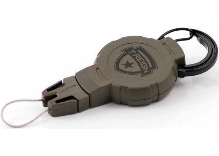 Ретрактор (рулетка) T-reign, размер M, карабин, 0TR0-215