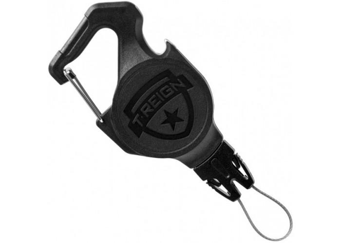 Ретрактор (рулетка) T-reign, размер S, карабин, 0TRC-4111