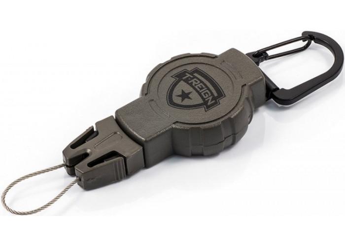 Ретрактор (рулетка) T-reign, размер S, карабин, 0TRG-211