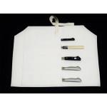 Скатка для транспортировки и хранения кухонных ножей Tojiro, на 5 ножей