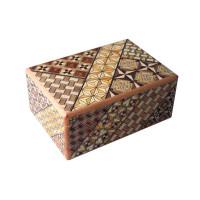 Японская коробка с секретом (Japan Puzzle Box) Yosegi 120x85X50мм, 12 шагов